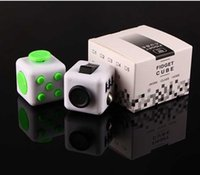 Wholesale IN STOCK NEW FIDGET CUBE STRESS ANXIETY RELIEF SIDED DESK TOY New Fidget cube
