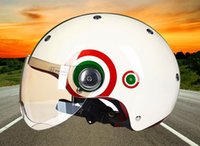 Wholesale Christmas gifts M XL cm men and women universal motorcycle protective safe motor Electrombile scooter Half Helmets