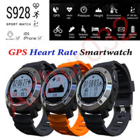 airs wristwatches - S928 Sport Smart Watch GPS Heart Rate Monitor SmartBand Outdoor Smartwatch Air Pressure Altimeter Fitness Wristwatch For IOS Android Phone