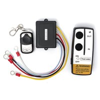 atv keys - Good quality V ft Wireless Winch Remote Control Set Kit With Key Fob For Truck ATV SUV Auto Winch