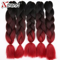 Ombre Color african synthetics - Xtrend quot braiding hair three tone jumbo ombre synthetic hair g more color blue gray african american black women