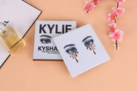 Wholesale 20pcs sell Kylie Kyshadow eyeshadow Pressed Powder Bronze Kit Eye shadow Palette Bronze Preorder Natural Brighten Makeup Colors