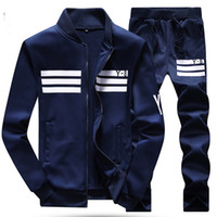 big men s suits - XL XL XL Big Size Men Tracksuit New Mens Sport Suit Winter Gym Jogger Training Clothing Breathable Cotton Running Set