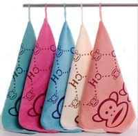 bath baby wipes - High Quality Baby Towel New Cute rabbit Baby Hand Towel Soft Children s Cartoon Animal Hanging Wipe Bath Face JF