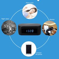 best home security camera - Best Night Vision Spy Camera Digital Clock Hidden Cam DVR Wifi P2P IP Wireless Spy Security Camera Home Office Surveillance Monitor