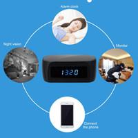 best surveillance cameras - Best Night Vision Spy Camera Digital Clock Hidden Cam DVR Wifi P2P IP Wireless Spy Security Camera Home Office Surveillance Monitor