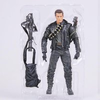 arnold schwarzenegger doll - oys Hobbies Action Toy Figures Classic Movie Arnold Schwarzenegger Doll NECA The Terminator T800 Cyberdyne Showdown Model Action Figure