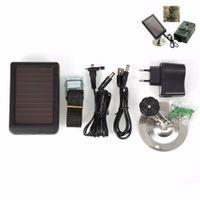 Wholesale mAh Solar Panel Charger EU Plug Battery External Power for SUNTEK Hunting Cameras HC300 HC300M Wildlife Scouting Camera