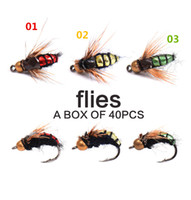 Wholesale 2016 red green yellow color bionic flies hook fishing bait lures fish accessories