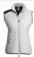 Wholesale 2017 winter waistcoat woman S XL brand light down vest luxury design parka coats for women jackets woman ladies jackets sale