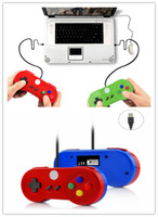Multicolor Especial Personalizar USB juego Controlador Brillante Shell Juego Joystick Gamepad Para Windows PC / MAC / Laptop