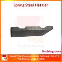 Wholesale Big Spring SUP9A SUP11A Double grooved Flat Bar
