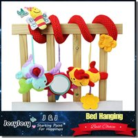 baby crib toys mobile - Baby Mobile Musical Bed Stroller Playing Crib Bed Hanging Bell Baby Toys for Tots Baby Rattles for Kids