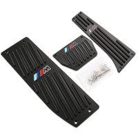Wholesale Car Accessory Aluminum Footrest M Pedal Pad Set For BMW X1 M3 E30 E36 E39 E46 E87 E90 E91 E92 E93 car styling