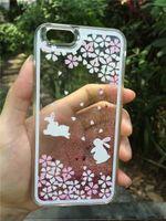 apples blossom - Apple Phone Case Protective Case Female iPhone6 plus Cherry Blossom Rabbit Kitten Dog Runaway Case Shell