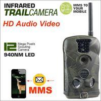 Cámara de la caza de la cámara GSM / GPRS del rastro de los 6210MM 6210MG 12MP 1080P 940nm LED del azul LED de la bóveda del Ltl Envío libre