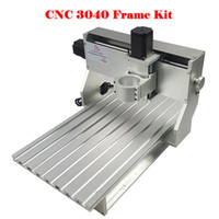 Wholesale russian free taxes wood metal Drilling and Milling Machine DIY frame of cnc router machine With stepper motor