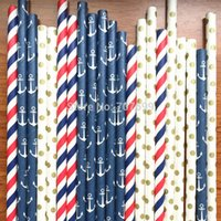 anchor paper - Free DHL Shipping Above FDA and SGS approved Paper Straws Drinking Paper Straws Drinking Straws Anchor Paper Straw