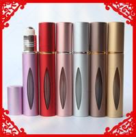 Wholesale Best Christmas Gift roll on perfume bottle travel roll on essential oil bottle refill perfume bottle