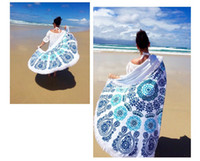 bath towel material - 2017 most popular different colors cotton material round beach towel with tassels