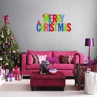 best colorful window - Colorful Merry Christmas Removable DIY Window Wall Sticker Home Party Decoration Your Best Choice