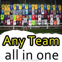 Wholesale Plus Size XL Any soccer jerseys ALEXIS OZIL KANE Higuain IBRAHIMOVIC KUN AGUERO Ronaldo Bale DE BRUYNE football shirt