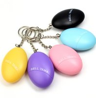 Wholesale Personal Alarms Bell Tama Loud Safe db mini Portable Keychain Women Anti Attack Security Protect Loud Keychain Alarm KKA1192