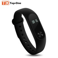 Wholesale 2016 Newest Original Xiaomi Mi Band OLED Screen Touch Operation New Bracelet Better Algorithm Pulse Heart Rate IP67 days