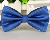 Wholesale Men s bow tie Leisure jacquard fine lines tie Business Wedding Korean bow tie