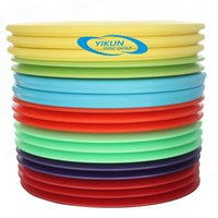 Wholesale Professional Disc Golf Tiger Line Misprint Slightly Flaw Four Pieces Mid range Yellow Driver Red Random Designs