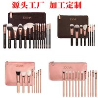 Wholesale hot sell COMPLETE MAKEUP BRUSH SET Professional Luxury Set Make Up Tools Kit ZOEVA Powder Blending brushes