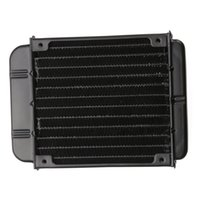 Wholesale 2016 blank Aluminum mm PC Computer Radiator Water Cooling Cooler For CPU LED TEC Heatsink