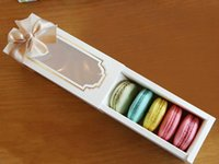 Wholesale Hot New Window Macaron box cake box gift box