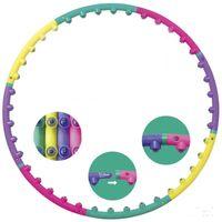 Wholesale New arrival magnet fitness hula hoop massage hoops hula hoop for children kid bodybuilding for women hoops