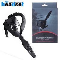 2017Hot Gaming Headset Bluetooth Headset 4.0 Auricular manos libres inalámbrico recargable auricular de espera para PS3 PC Mobilephone
