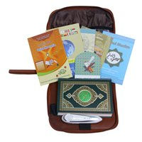 Wholesale Leather bag gb pen Quran reader Quran player mp3 for Arabic learning pen one discount price