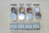 Wholesale kylie colors holiday edition kyshadow Creme Shadow Presell Metal Gold Kylie Jenner Cosmetics Birthday Edition Creme Shadow