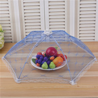 Wholesale Kitchen Food Umbrella Creative Kitchen Supplies Picnic Barbecue Party Anti Fly Mosquito Mesh Lace Food Covers Table Food Cover Dish Cover