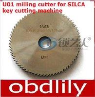 angle cutting machine - Original Raise High speed steel double angle cutter U01 milling cutter for SILCA key cutting machine UNOCODE299 locksmith