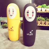 Wholesale Yafeiqi new hot cartoon double glass no face male cup creative gift cup custom