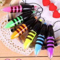 Wholesale 6 Highlighter Colors Pens DIY Drawing Marker Pen Stationery Office Material School Supplies School Christmas Gift Pa