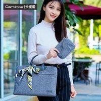 Wholesale Cartinoe brand lamando fashion handbag laptop shoulder bag messenger bag for inch