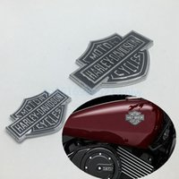 auto fuel tanks - 3D Harley Davidson Badge Sticker Auto Gas Fuel Tank Emblems Medallions For Ford F150 Jeep Chevy