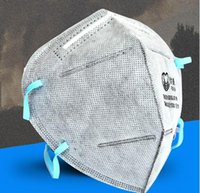 Wholesale Breathing mask gauze mask powecom Active carbon anti dust respirator N95 disposable masks Ear belt type in winter warm masks
