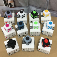 Wholesale Fidget cube New Popular Decompression Toy Fidget cube the world s first American decompression anxiety Toys vs fidget spinner