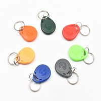 bag em - bag RFID key fobs KHz proximity ABS key tags for access control with TK4100 EM chip