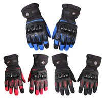 Wholesale Pro Moto Motorcycle Gloves Full Finger Motorbike Glove Waterproof Windproof Luvas Cycling Racing Sport Guantes de la motocicleta