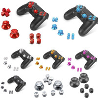 Wholesale Chrome Metal Button Replacement Mod Game Kit for Playstation PS4 Controller