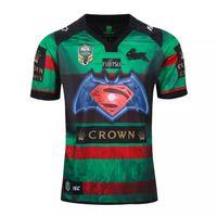 batman vs - Thai quality New Rabbitohs Batman vs Superman Jersey South Sydney Dawn of Justice Shirt Rabbitohs Batman vs Superman Rugby Shirt