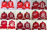 abdelkader jersey - Detroit Cheap Hockey Jerseys Red Wings jerseys LARKIN ZETTERBERG DATSYUK LIDSTROM ABDELKADER NYQUIST TATAR GREEN Red